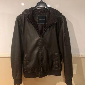 Brown Tommy Hilfiger Bomber Jacket